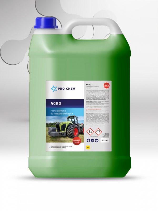 Активна піна для миття сільськогосподарської техніки agro - pro-chem - побутова, промислова та авто хімія - 4