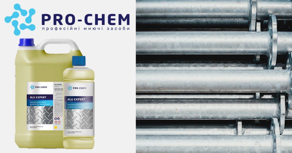 Засіб для професійної очистки поверхонь із алюмінію та інших металів pro-chem alu expert - pro-chem - побутова, промислова та авто хімія - 9