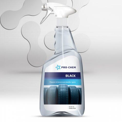 Засіб для збереження та консервації пластику та гуми BLACK