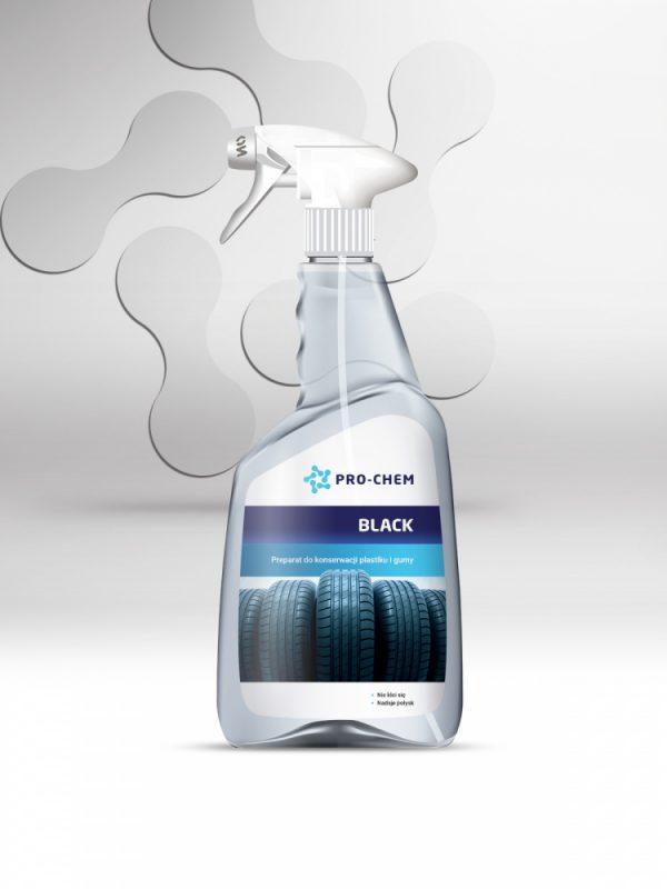 Засіб для збереження та консервації пластику та гуми black - pro-chem - побутова, промислова та авто хімія - 2