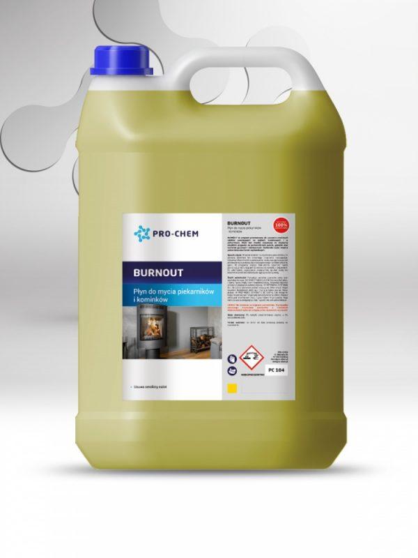 Рідина для миття поверхні печей та камінів burnout - pro-chem - побутова, промислова та авто хімія - 2