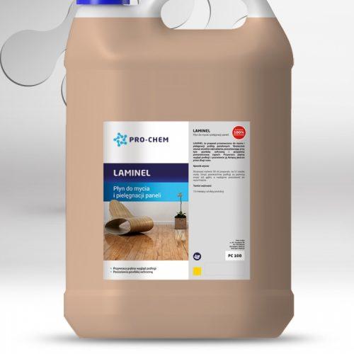 Рідина для очищення та догляду за ламінованою підлогою, панелями та покриттям ПВХ LAMINEL