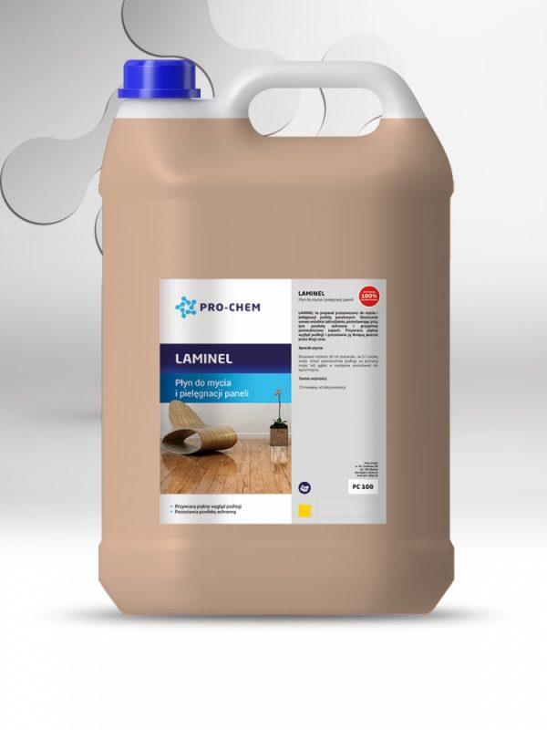 Рідина для очищення та догляду за ламінованою підлогою, панелями та покриттям ПВХ LAMINEL - PRO-CHEM - Побутова, промислова та авто хімія - 2