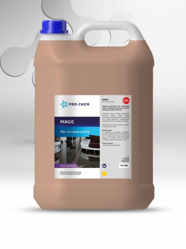 Рідина для чищення та догляду за керамічною підлогою magic - pro-chem - побутова, промислова та авто хімія - 6