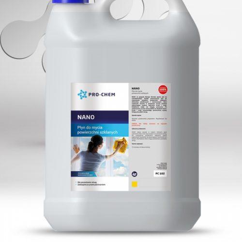 Рідина для миття скляних поверхонь NANO