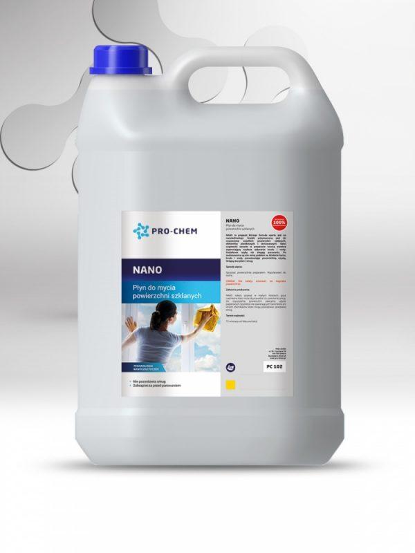 Рідина для миття скляних поверхонь NANO - PRO-CHEM - Побутова, промислова та авто хімія - 2