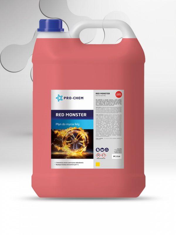 Рідина для миття дисків red monster - pro-chem - побутова, промислова та авто хімія - 7