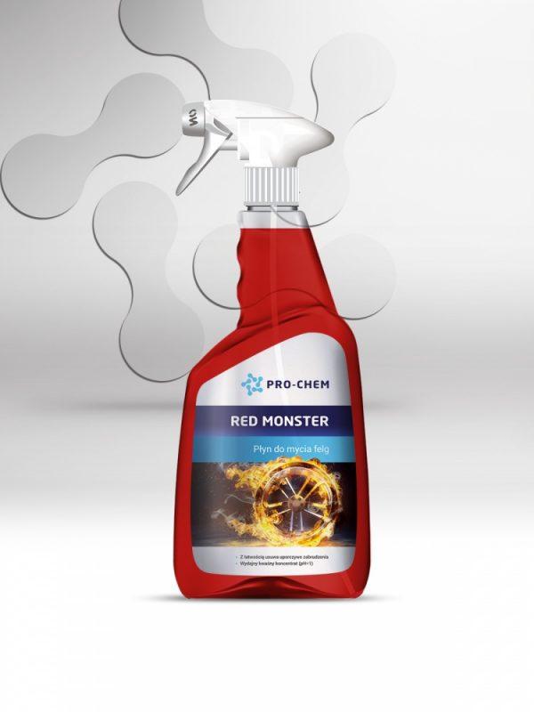Рідина для миття дисків red monster - pro-chem - побутова, промислова та авто хімія - 5