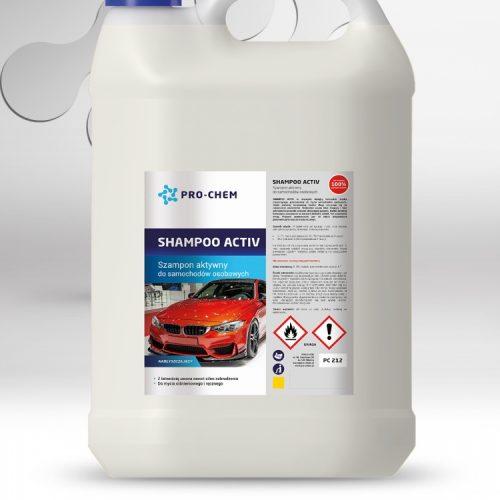Активний автомобільний шампунь SHAMPOO ACTIV