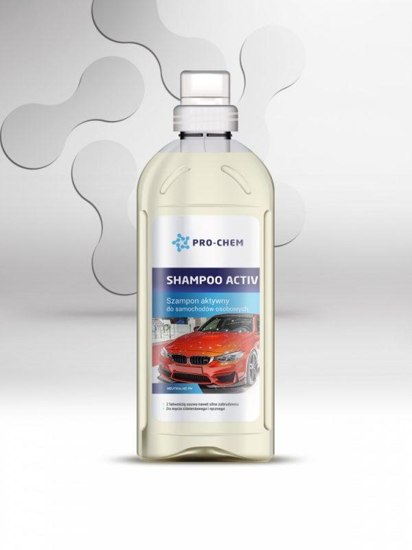 Активний автомобільний шампунь shampoo activ - pro-chem - побутова, промислова та авто хімія - 1