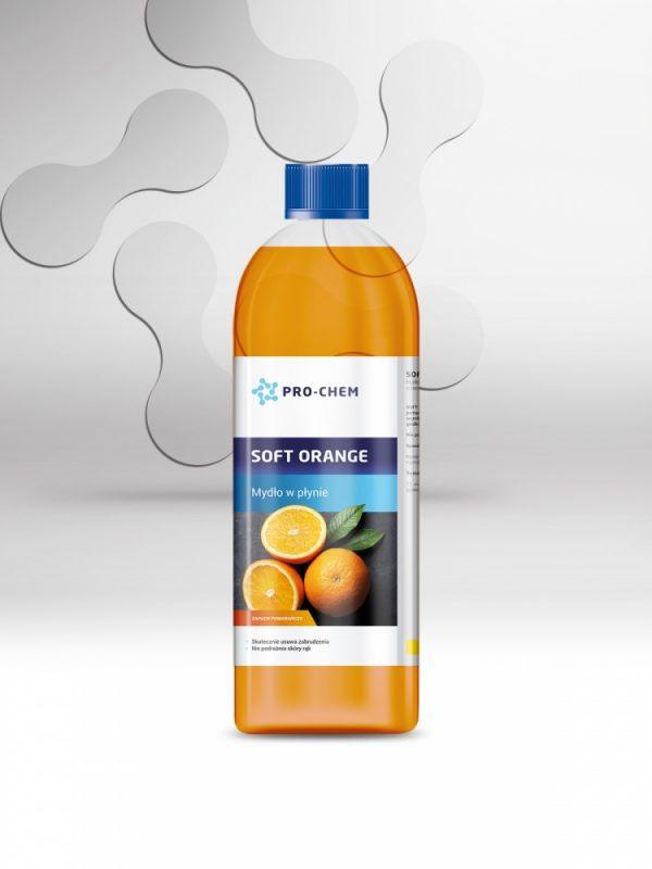Рідке мило з апельсиновим ароматом SOFT ORANGE - PRO-CHEM - Побутова, промислова та авто хімія - 2