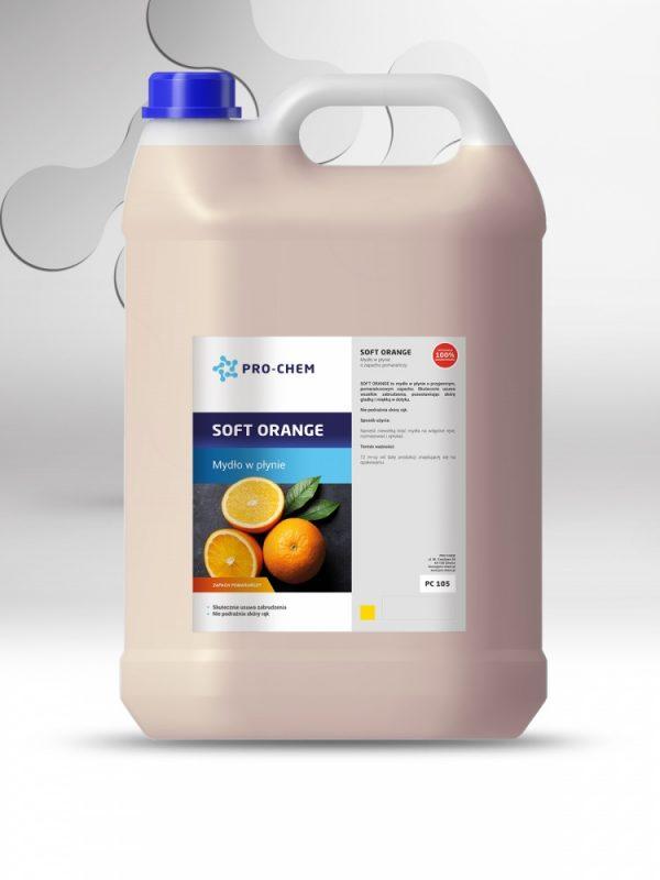 Рідке мило з апельсиновим ароматом SOFT ORANGE - PRO-CHEM - Побутова, промислова та авто хімія - 3