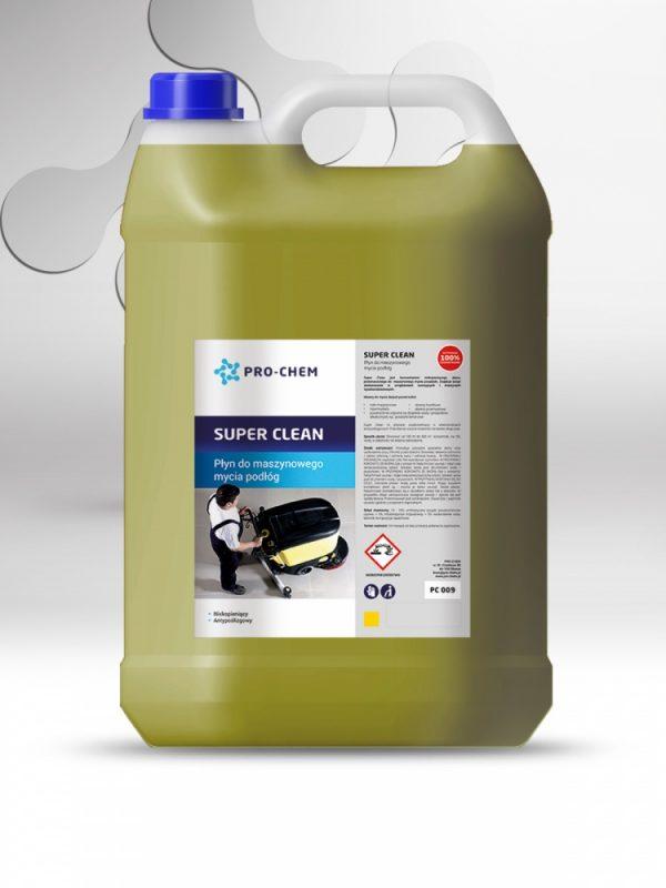 Рідина для автоматизованого машинного миття підлоги super clean - pro-chem - побутова, промислова та авто хімія - 2