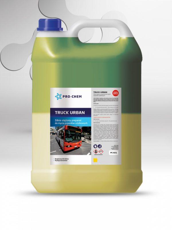 Висококонцентрований засіб для очищення вантажних автомобілів truck urban - pro-chem - побутова, промислова та авто хімія - 2