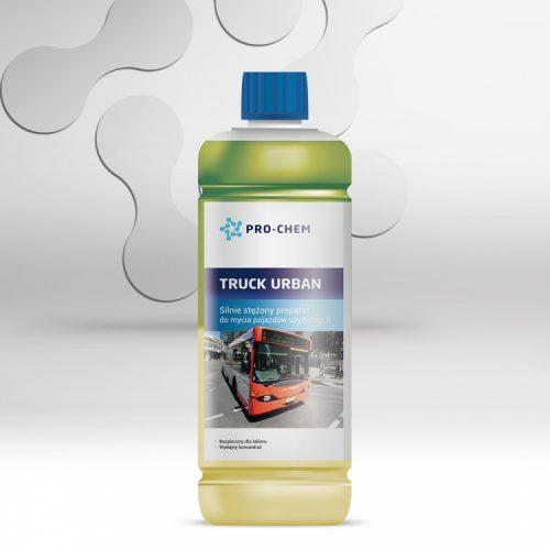 Висококонцентрований засіб для очищення вантажних автомобілів TRUCK URBAN