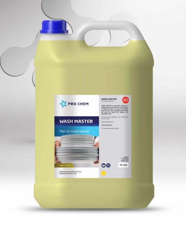 Рідина для миття посуду wash master - pro-chem - побутова, промислова та авто хімія - 8