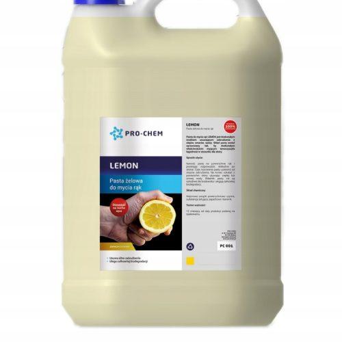 Гель-паста до миття рук з запахом лимону LEMON