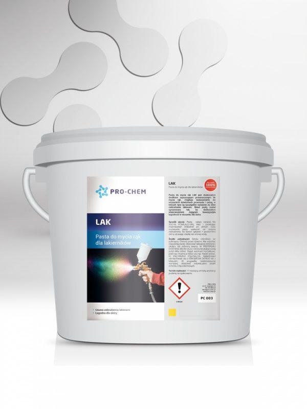 Паста для миття рук від лаку lak - pro-chem - побутова, промислова та авто хімія - 5